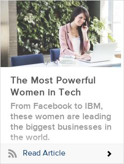 The Most Powerful Women in Tech