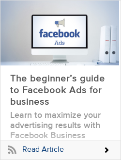The beginner's guide to Facebook Ads for business