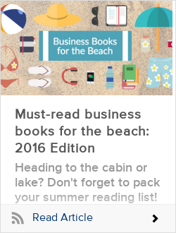 Must-read business books for the beach: 2016 Edition