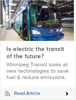Is electric the transit of the future?