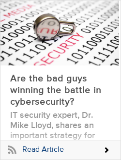 Are the bad guys winning the battle in cybersecurity?