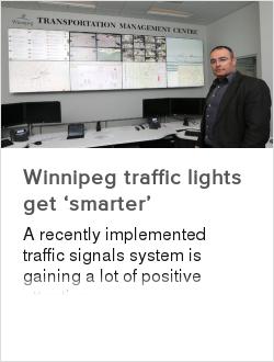 Winnipeg traffic lights get 'smarter'