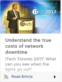 Understand the true costs of network downtime
