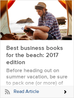 Best business books for the beach: 2017 edition