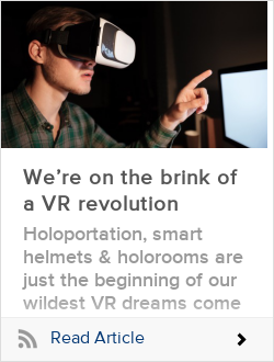 We're on the brink of a VR revolution
