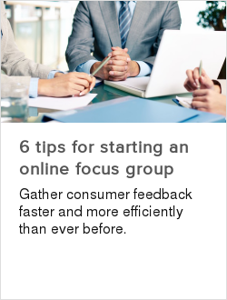 6 tips for starting an online focus group