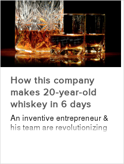 How this company makes 20-year-old whiskey in 6 days