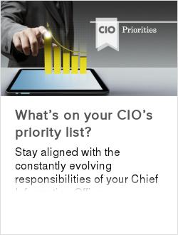 What's on your CIO's priority list?
