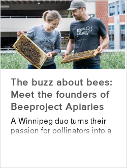 The buzz about bees: Meet the founders of Beeproject Apiaries