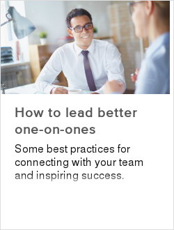 How to lead better one-on-ones