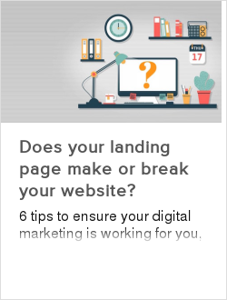 Does your landing page make or break your website?
