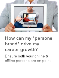 """How can my """"personal brand"""" drive my career growth?"""