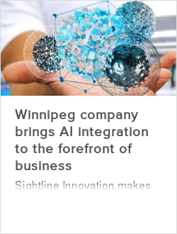 Winnipeg company brings AI integration to the forefront of business