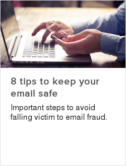 8 tips to keep your email safe
