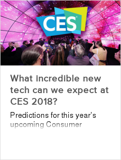 What incredible new tech can we expect at CES 2018?