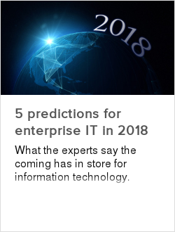 5 predictions for enterprise IT in 2018
