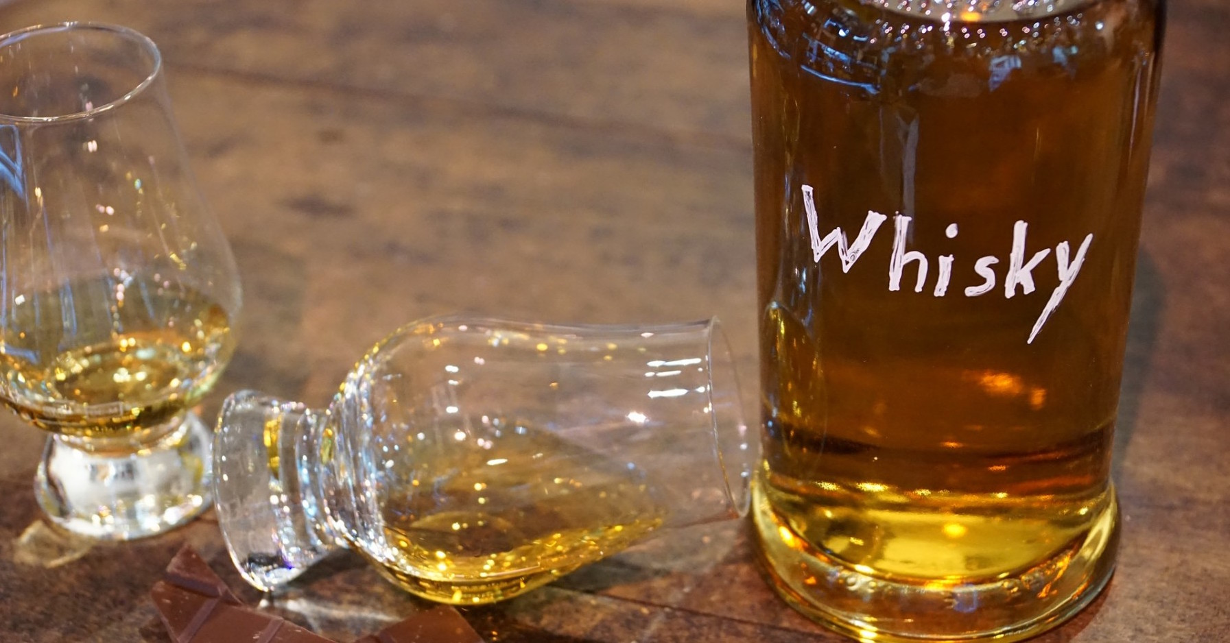 Fake whisky detector