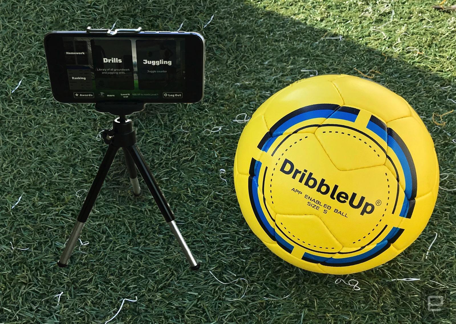 DribbleUp smart ball