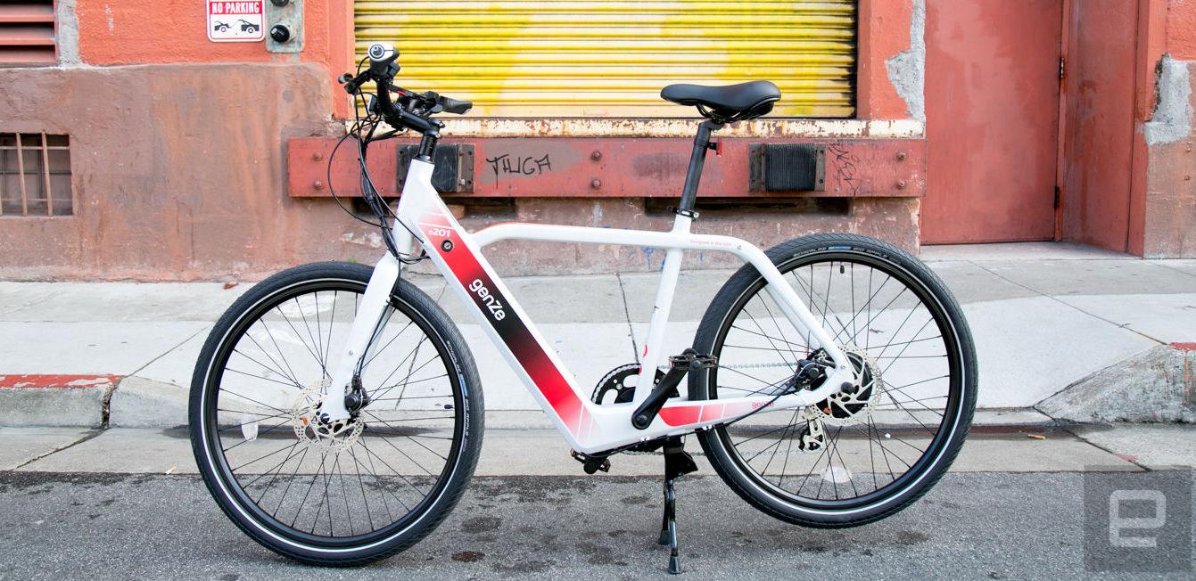 The GenZe 200 Series electric commuter bike