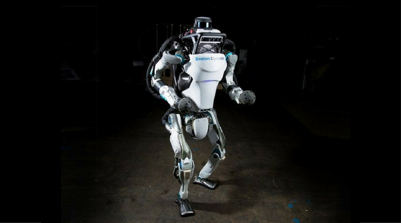 Atlas, the backflipping robot