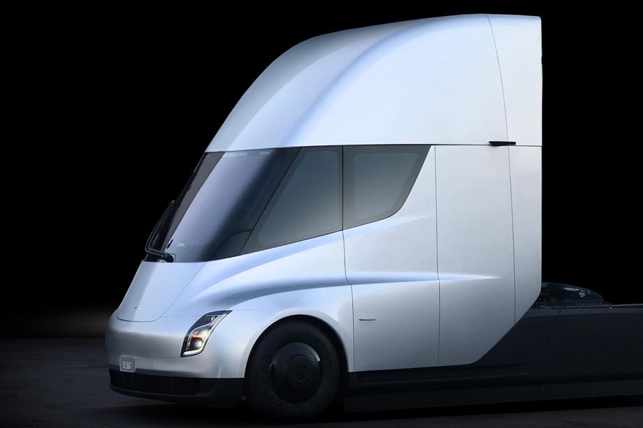 Tesla's electric semi-trailer