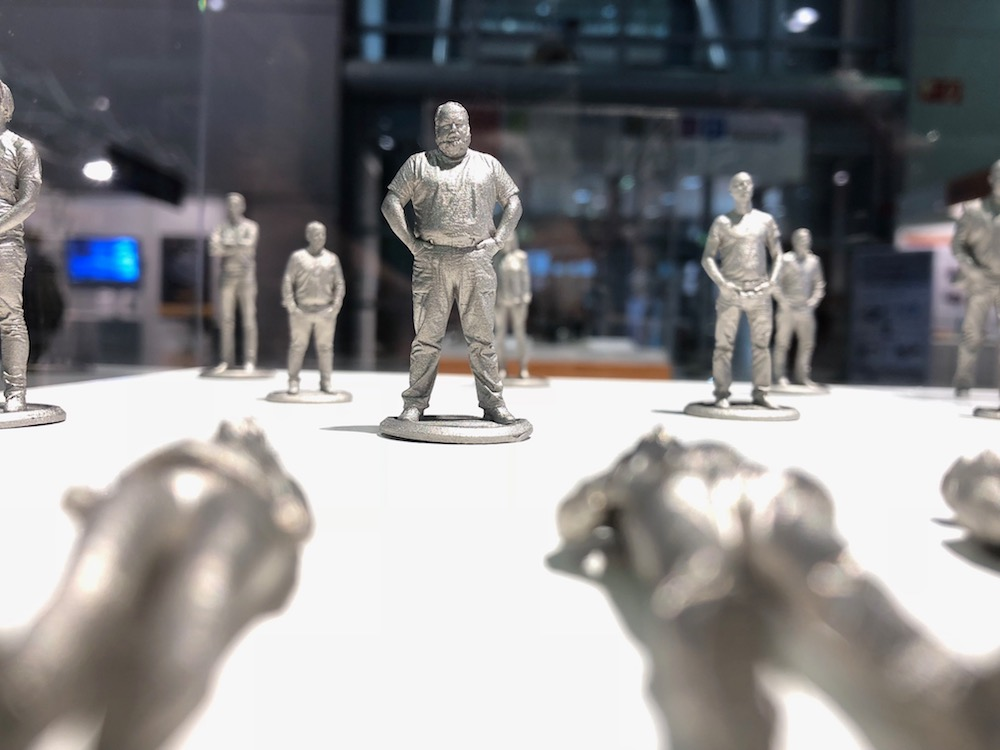 Digital Metal figurine 3D printing