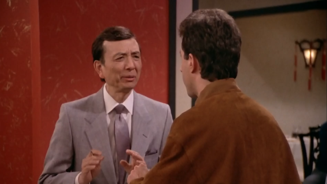 """SEINFELD """"Relationships are difficult. It is very hard to stay together."""""""