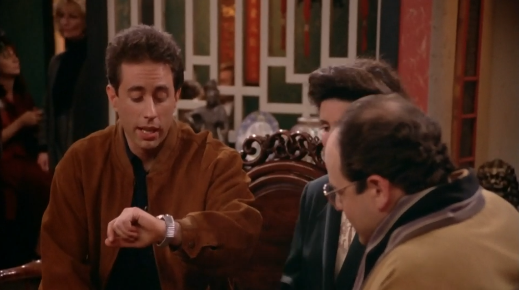 """SEINFELD """"I don't see any way we can eat and make this movie."""""""