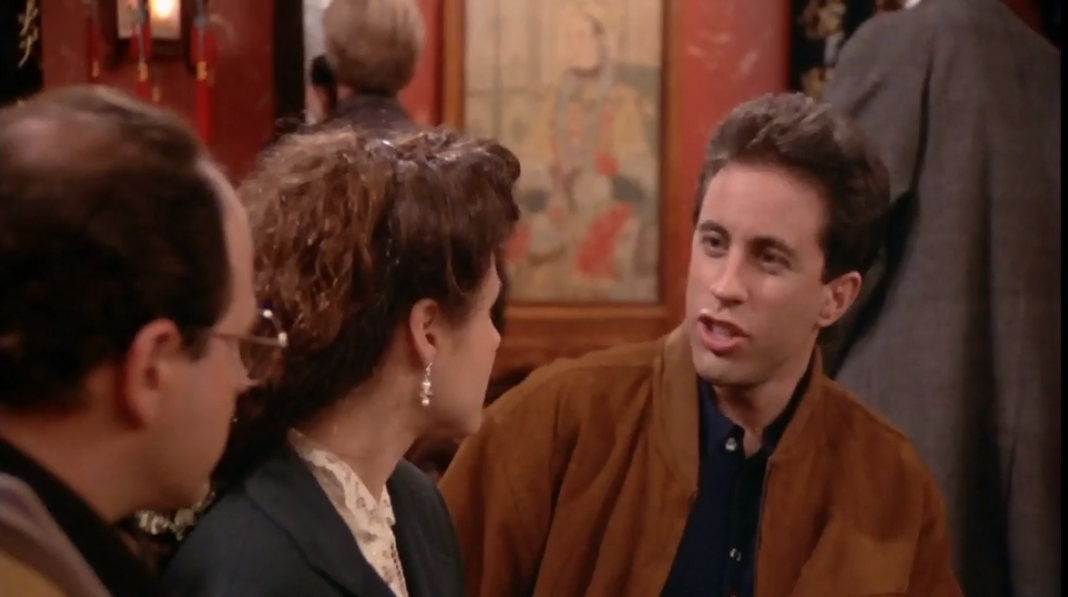 """SEINFELD """"This is 'Plan """"This is the one that worked. The worst movie ever made!"""""""