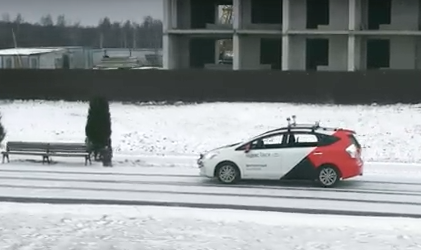 Yandex.Taxi's self-driving car