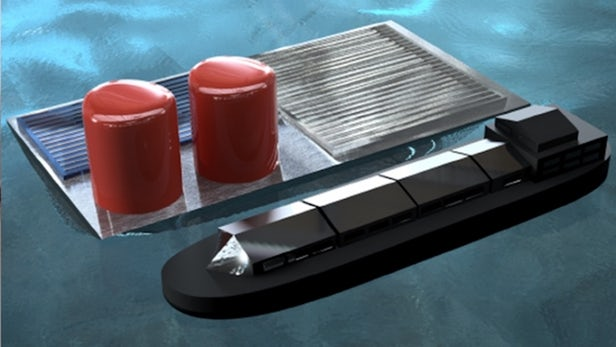 Solar powered hydrogen generator