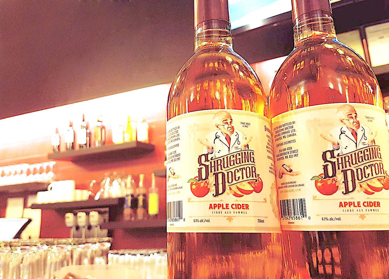 Shrugging Doctor Brewing Company Winnipeg Manitoba