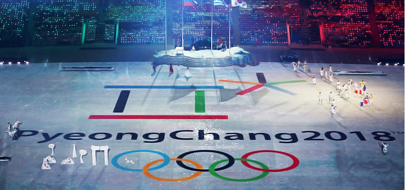 New tech at the 2018 Winter Olympics in Pyeonchang