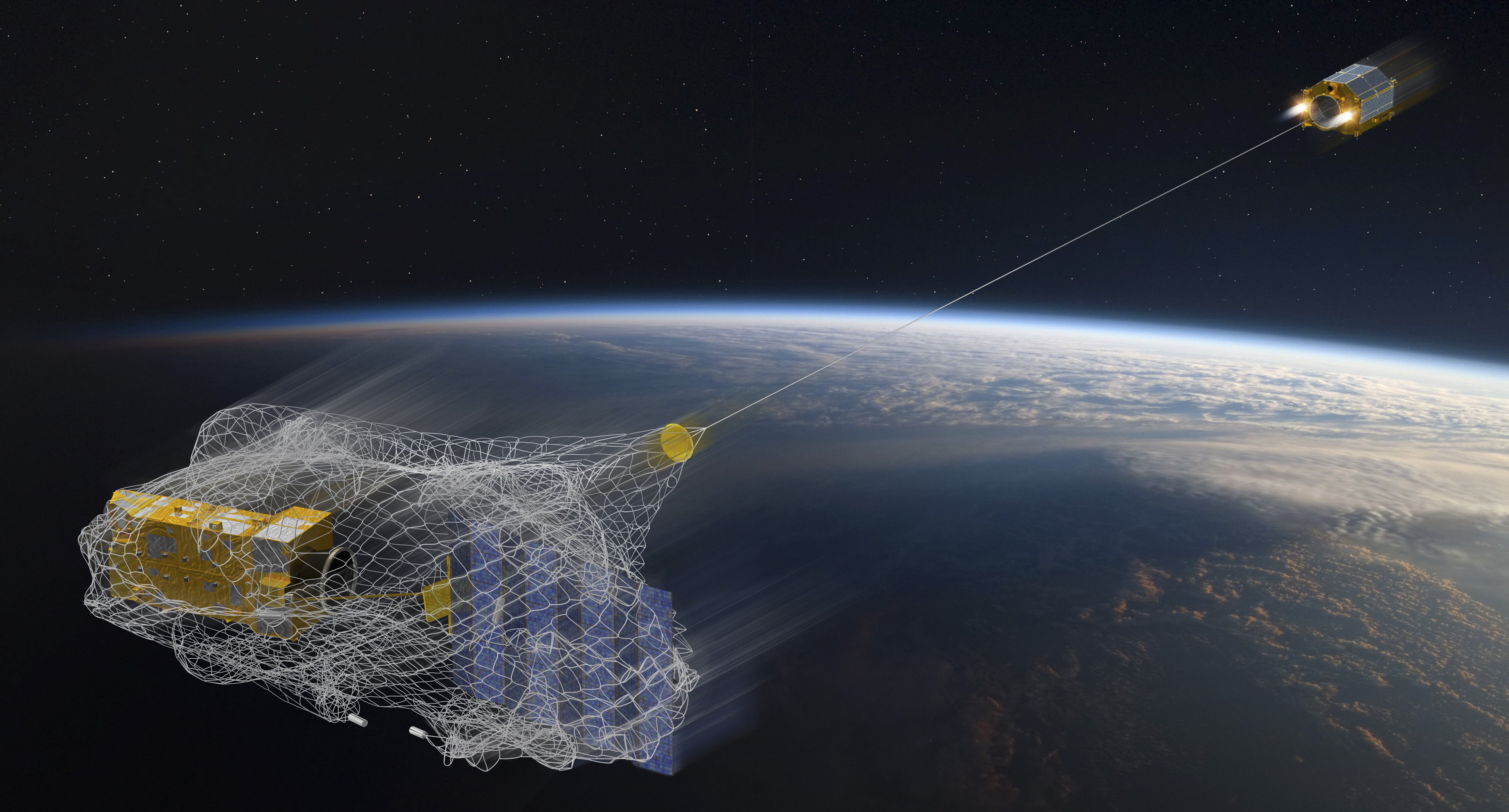 Robots will clean up space junk in Low Earth Orbit