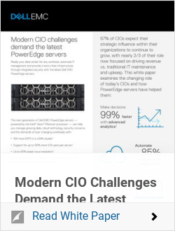 Modern CIO Challenges Demand the Latest PowerEdge Servers