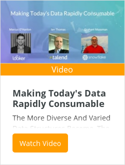 Making Today's Data Rapidly Consumable