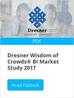 Dresner Wisdom of Crowds® BI Market Study 2017