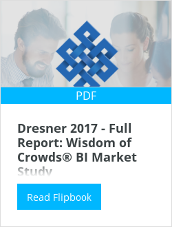 Dresner 2017 - Full Report: Wisdom of Crowds® BI Market Study