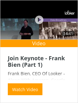 Join Keynote - Frank Bien (Part 1)