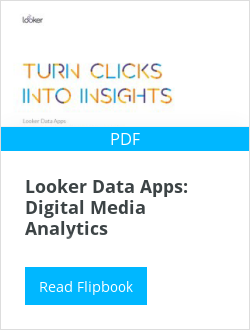 Looker Data Apps: Digital Media Analytics