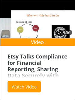 Etsy Talks Compliance for Financial Reporting, Sharing Data Securely with Looker #JOINData 2016