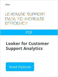 Looker for Customer Support Analytics