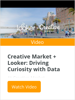 Creative Market + Looker: Driving Curiosity with Data