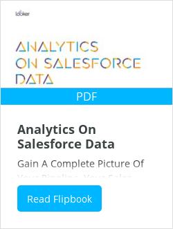 Analytics On Salesforce Data