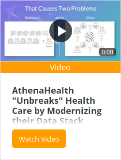 "AthenaHealth ""Unbreaks"" Health Care by Modernizing their Data Stack"