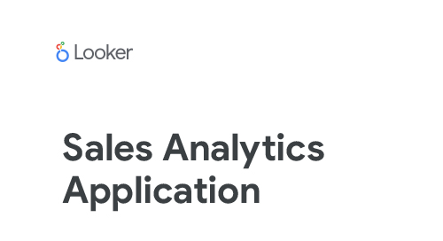 Applications: Sales Analytics