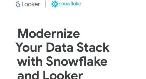 Snowflake & Looker Solution Brief