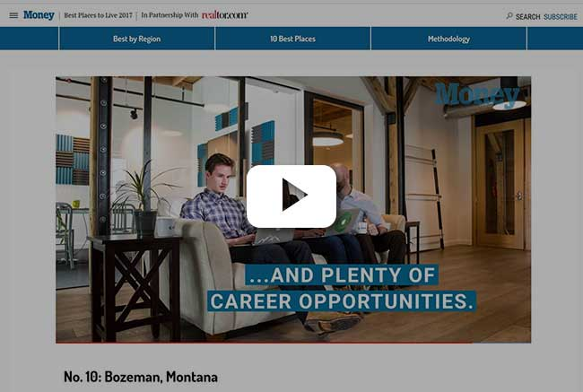 Watch The Video Below To See Why Bozeman Was Selected (be Sure To Catch The  Shot Of Elixiter Employees Hard At Work At 1:05).