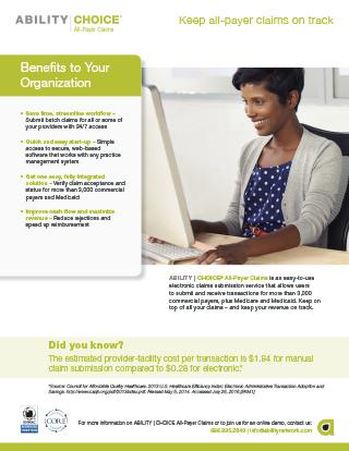 ABILITY | CHOICE® All-Payer Claims