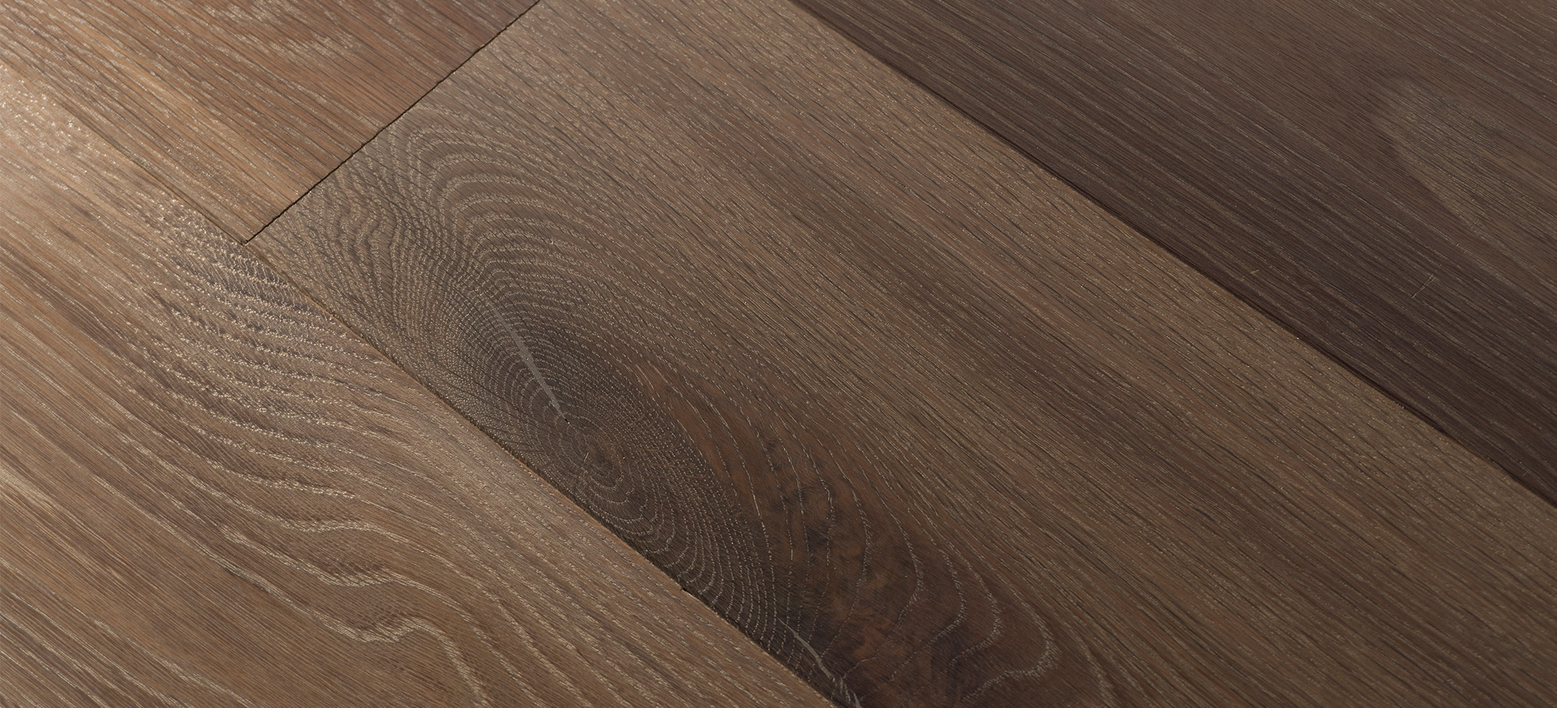 White Oak Wide Plank Flooring Smooth Surface